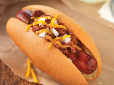 Easy Chili Dog